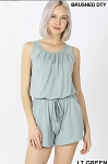 Laid Back Romper ( Lt Green)