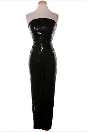 Action Sequin jumpsuit