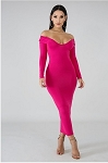 Curves Solids (Pink)